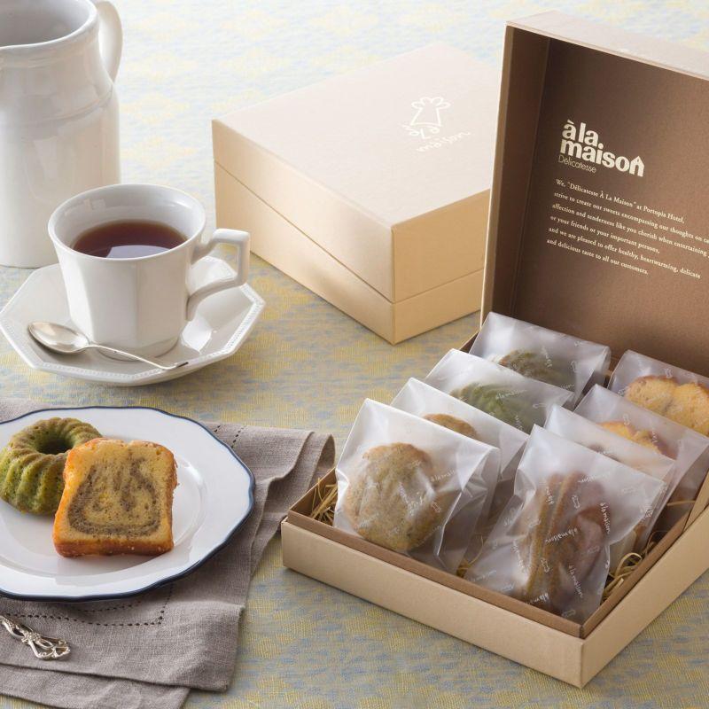 【サマーギフト】お茶の焼き菓子詰め合わせ